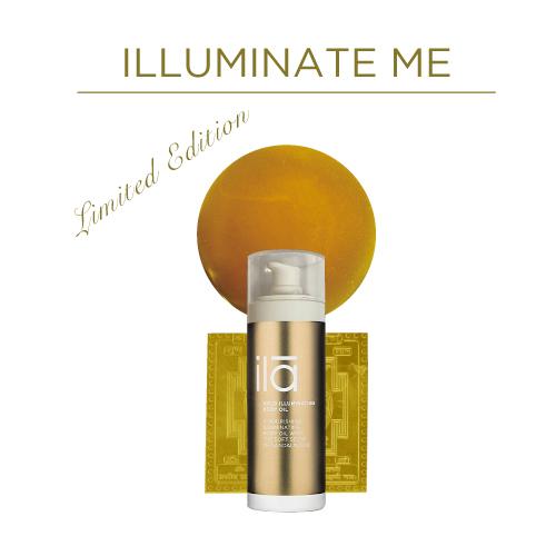 ila Gold illuminating Body Oil SP